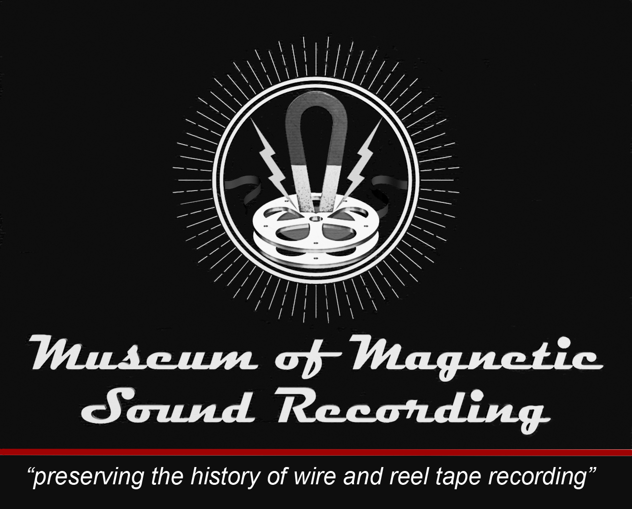 Museum of Magnetic Sound Recording logo